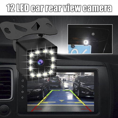 12 LED HD Car Rear View Camera Auto Parking Reverse Backup Camera Night VisionSL