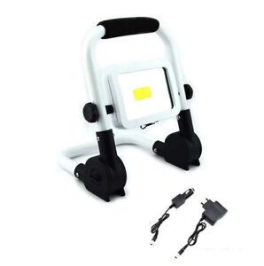 Waterproof Spotlight DEL Lumineux Rechargeable Portable Projecteur Lampe De Poche Neuf
