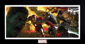 Marvel-Avengers-Age-Ultron-The-Incredible-Hulk-Iron-Man-Captain-America-Thor-Art