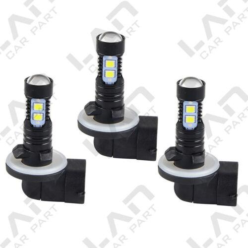 3 For Polaris Sportsman 850 2010-2018 150W 6000K Super White LED Headlight Bulbs