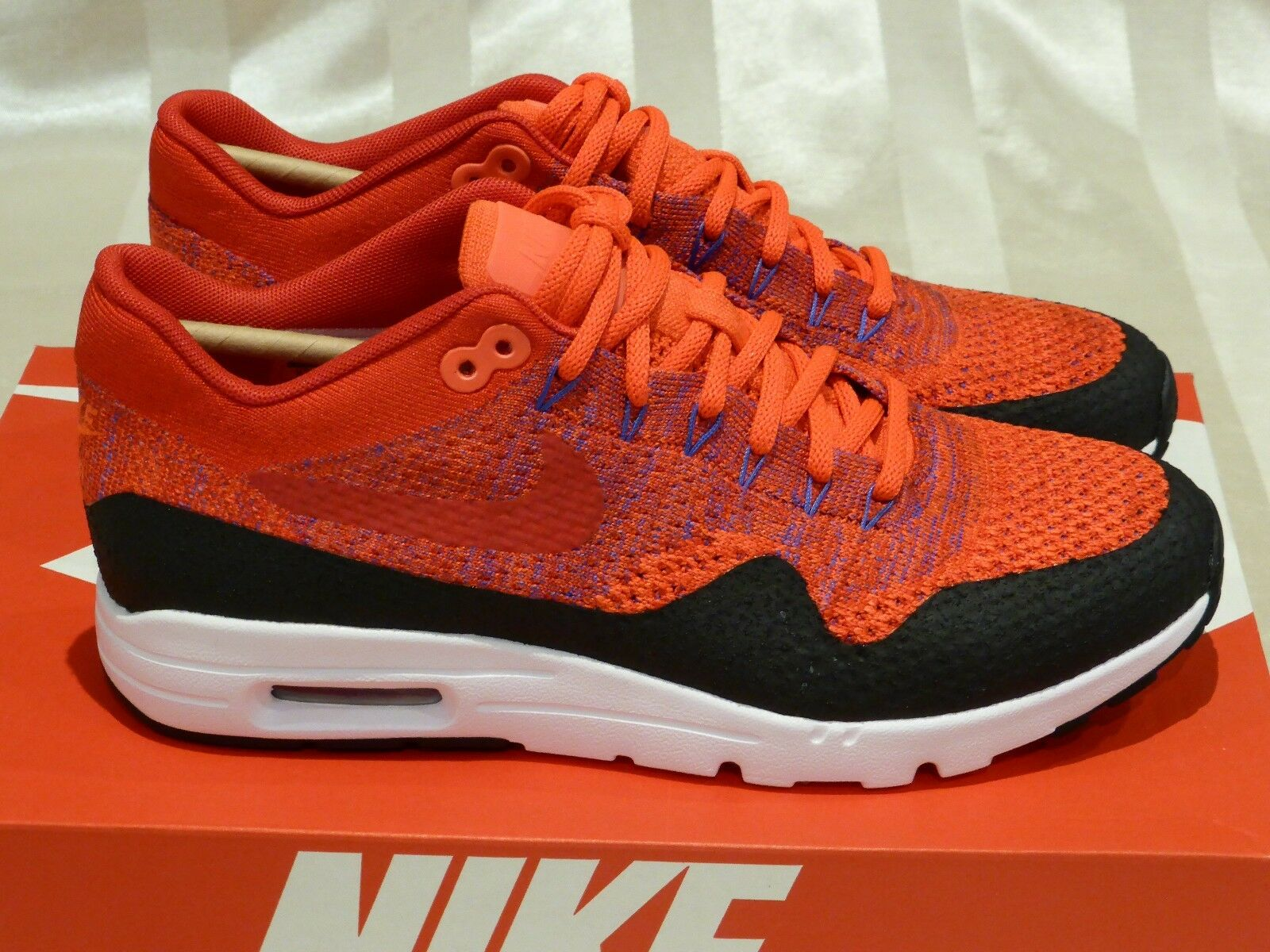 Nike Air Max 1 Ultra Flyknit Flyknit Flyknit 'University rosso' donna (Dimensione US9.5)New boost retro 080eb7