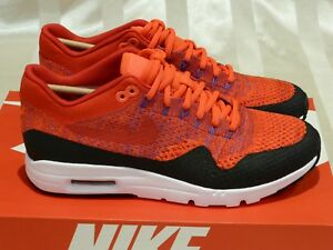 Nike-Air-Max-1-Ultra-Flyknit-039-University-Red-039-Womens-Size-US9-5-New-boost-retro