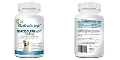 Nutrition Strength Thyroid Supplement For Dogs Support