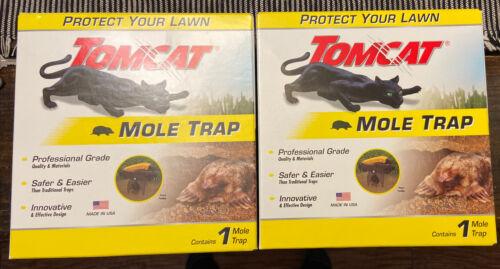 2 Pack! NEW Tomcat Mole Trap Hands Free  NIB