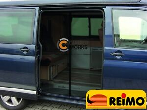 Details about REIMO Fly Screen/Mosquito Sliding Door Net For VW T5/T6  Kombi/Multivan YR 2003+