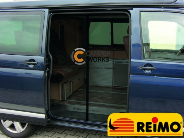 T6 2015 on Transporter Campervan Reimo Rear Mosquito Net For VW T5 2003–2015