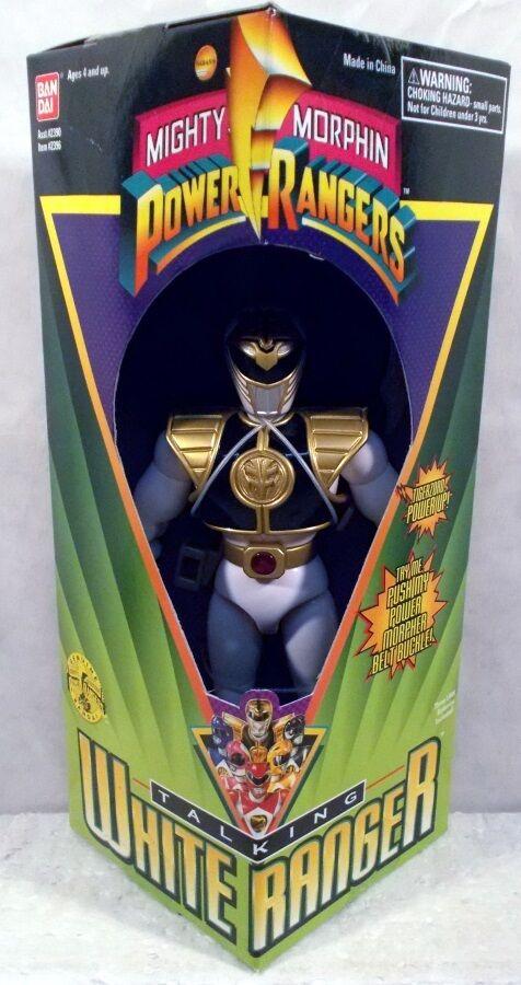 Mighty Morhpin Power Rangers MMPR - Talking 8  bianca Ranger Saba Sword  MISB