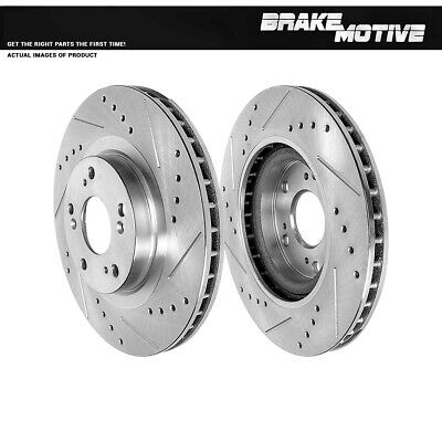 Front Brake Disc Rotors For ACURA ILX RSX TYPE S CIVIC Si COUPE SEDAN CRV