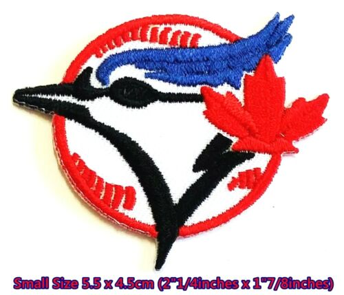 TORONTO BLUE JAYS Small Baseball Sport Embroidery Patch logo iron,sewing on