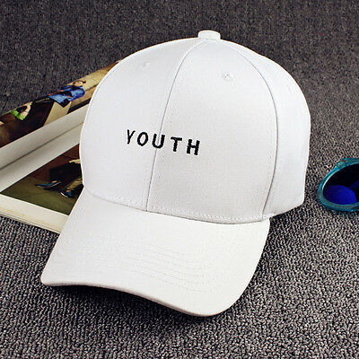 Men's Youth Bboy Brim Adjustable Baseball Cap Snapback Hip-Hop Hat Unisex Hot