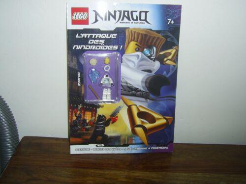 lego ninjago  l attaque des nindroides avec figurine