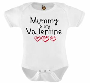 image is loading personalised baby vest mummy is my valentine baby