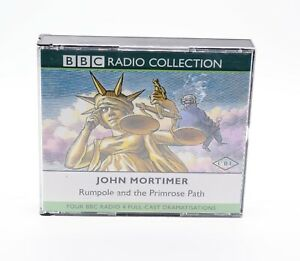 BBC-RADIO-COLLECTION-JOHN-MORTIMER-RUMPOLE-AND-THE-PRIMROSE-PATH-Rare-4-CD-Album