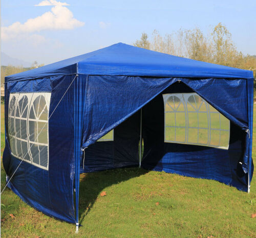 Heavy Duty 3x3 4 6 m FULLY WATERPROOF IP68 Gazebo Wedding Party Tent with Sides