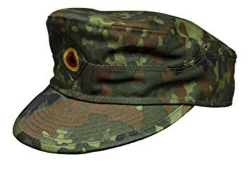 BUNDESWEHR FELDMÜTZE KAPPE BW NATO Camoflage MILITARY Cap Kopfbedeckung Hat