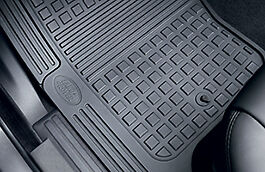 Genuine Land Rover Discovery 4 Rubber Footwell Mat Set