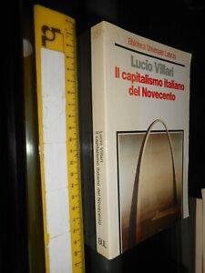 LIBRO-Il-capitalismo-italiano-del-Novecento-1992-di-Lucio-Villari-Autore