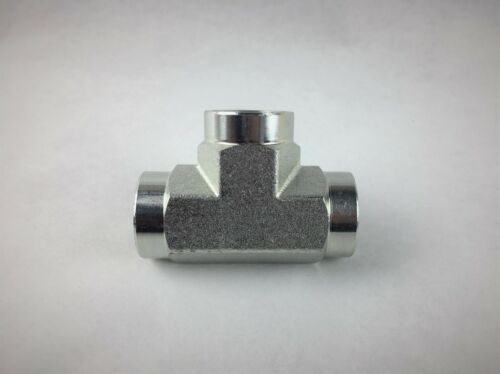 "High Pressure Fitting 1//2/"" Tee 5000 psi"