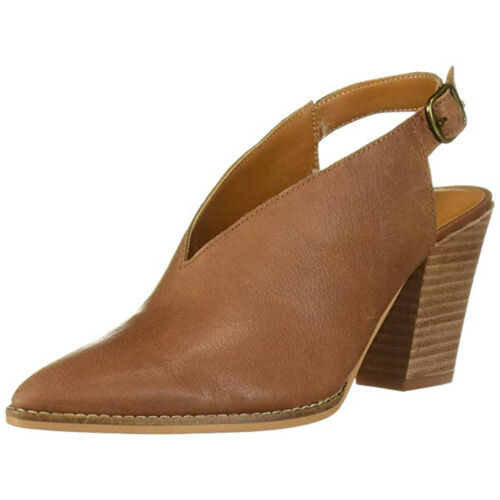 Lucky Brand Women/'s Aroyli Leather Pointed-Toe Pump