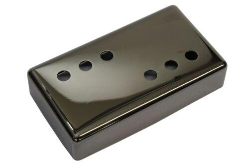 "Wide Range Humbucker Pickup Cover 3x3 /""Smoked Black Nickel/"" nickel silver 54mm"