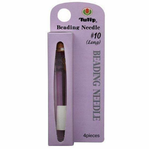 Tulip Beading Needle #10 4pc None