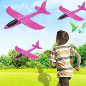 Kid-DIY-Handstart-Werfen-Segelflugzeug-Flugzeug-Schaum-EPP-Flugze-Nett-Flug-L1J3