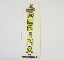 VECCHIO ADESIVO CICLISMO MOTO / Old Sticker REGINA DI ROMAGNA (cm 4x12)