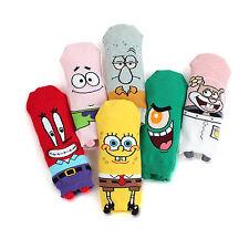 [Free postage] Sponge Bob Original Socks (6-Pack) Patrick plankton Squidward OL