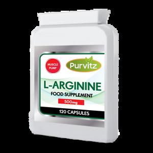L-Arginina-HCL-500mg-ad-alta-resistenza-amminoacido-aumento-di-ossido-nitrico-dimensioni-POMPA