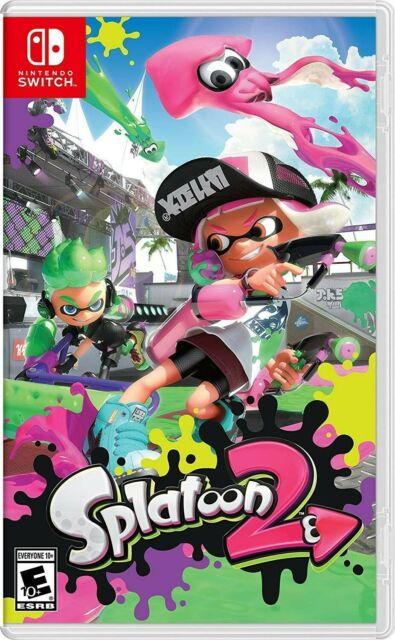 Splatoon 2 Nintendo Switch Brand New Sealed + FREE SHIPPING