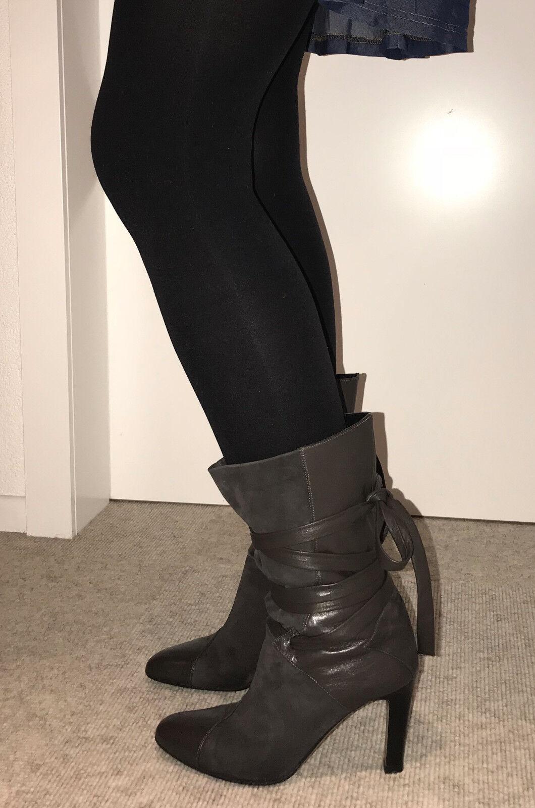 Hugo Boss Stiefel Leder Gr. 36,5 wie neu      e33529