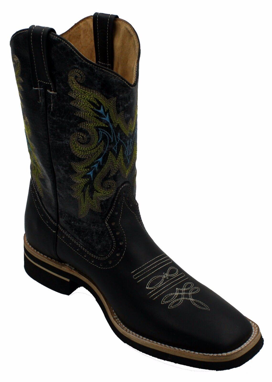 Cuero para Hombre Botas Rodeo de vaquero animal print Rodeo Botas Toro Precio Especial  CH850 ad6412