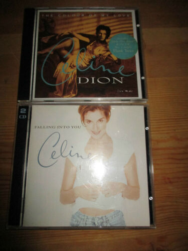 1 of 1 - Secondhand Celine Dion Falling into You etc mix lot cd's very good condition x 2