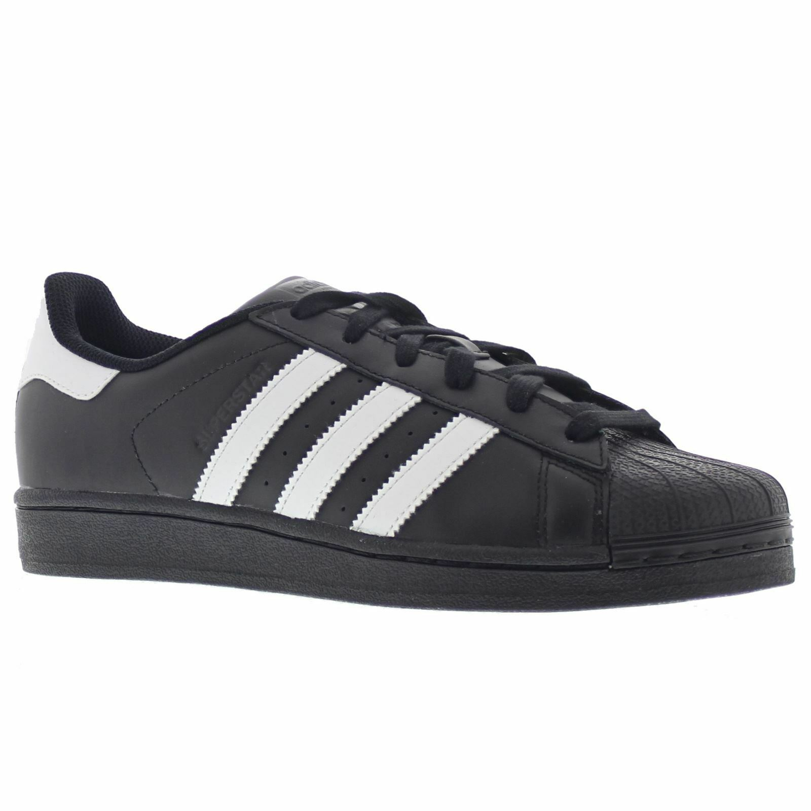 Adidas Superstar Foundation Black White Men's Trainers