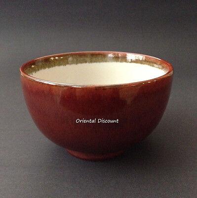 "Japanese 5/""D Tea Ceremony Ceramic Matcha Cup Bowl Ginsugi Design Made in Japan"