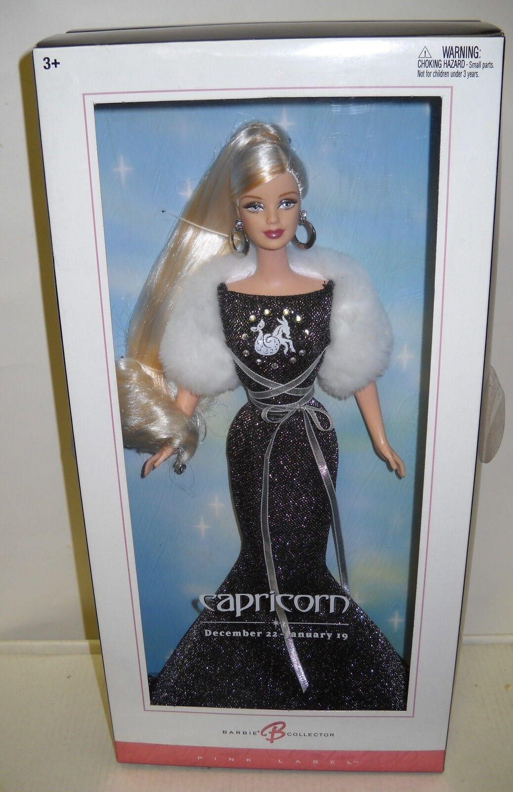 En Caja Original Mattel Muñeca Barbie Del Zodiaco Colección-Capricornio