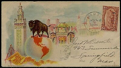 #286 ON PAN-AM EXPO 1901 COVER BQ2946