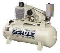 Schulz Air Compressor - 15hp 120 Gallon Tank - Oil Free