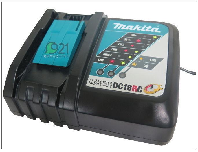 Makita DC18RC Rapid Optimum Charger 220V 7.2-18V Brand New Li-ion Battery Charge