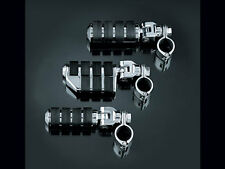 """Kuryakyn Dually ISO Footpegs with 1 /4"""" Magnum Clamp for Harley-Davidson models"""