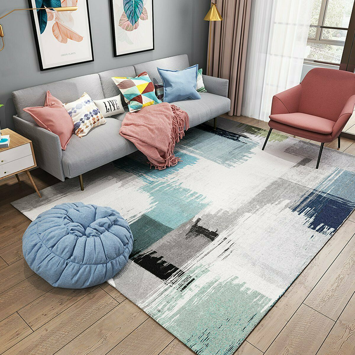 Living Room Carpet Non Slip Bath Mat