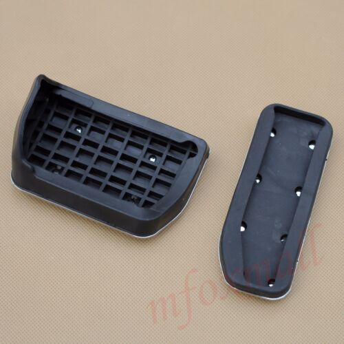 AT Foot Pedal Gas Fuel Brake Cover For Range Rover Evoque Discovery XE XF F-pace