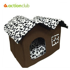 Dog House Pet Indoor Shelter Large Kennel Wood Weather New Cage Home Resistant
