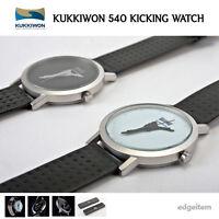 Mooto Kukkiwon 540 Kicking Watch Balck / White Taekwondo Kick Souvenir Gift Tkd