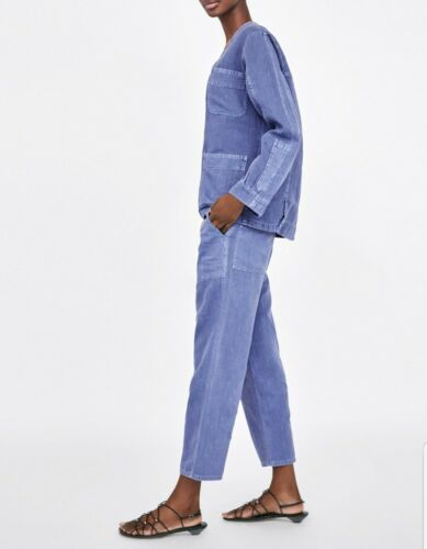 Denim Bnwt Bloggers Co Uk Favorite ord Set Size Trousers Zara Jacket And 10 OuTlwZiPkX