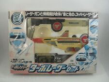 '89 Bandai Japan Sentai Turboranger Turbo Laser Set Pre Power Rangers Morpher