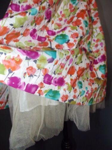 Qed Liberty Ou 34 London Dress Fifties Robe Txs Tulle Bustier fBfq8nr4