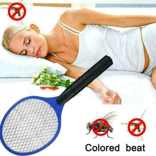Electric Zapper Bug Bat Fly Mosquito Insect Killer Racket Swatter Trap-Swat J0T8