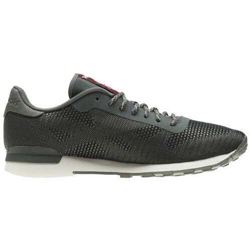 Reebok CN2137 Men Classic CL Flexweave Casual shoes grey white sneakers