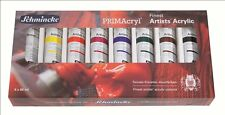 Schmincke PRIMAcryl® Einsteigerset 8 x 60 ml Tuben Kartonset Acrylfarbe